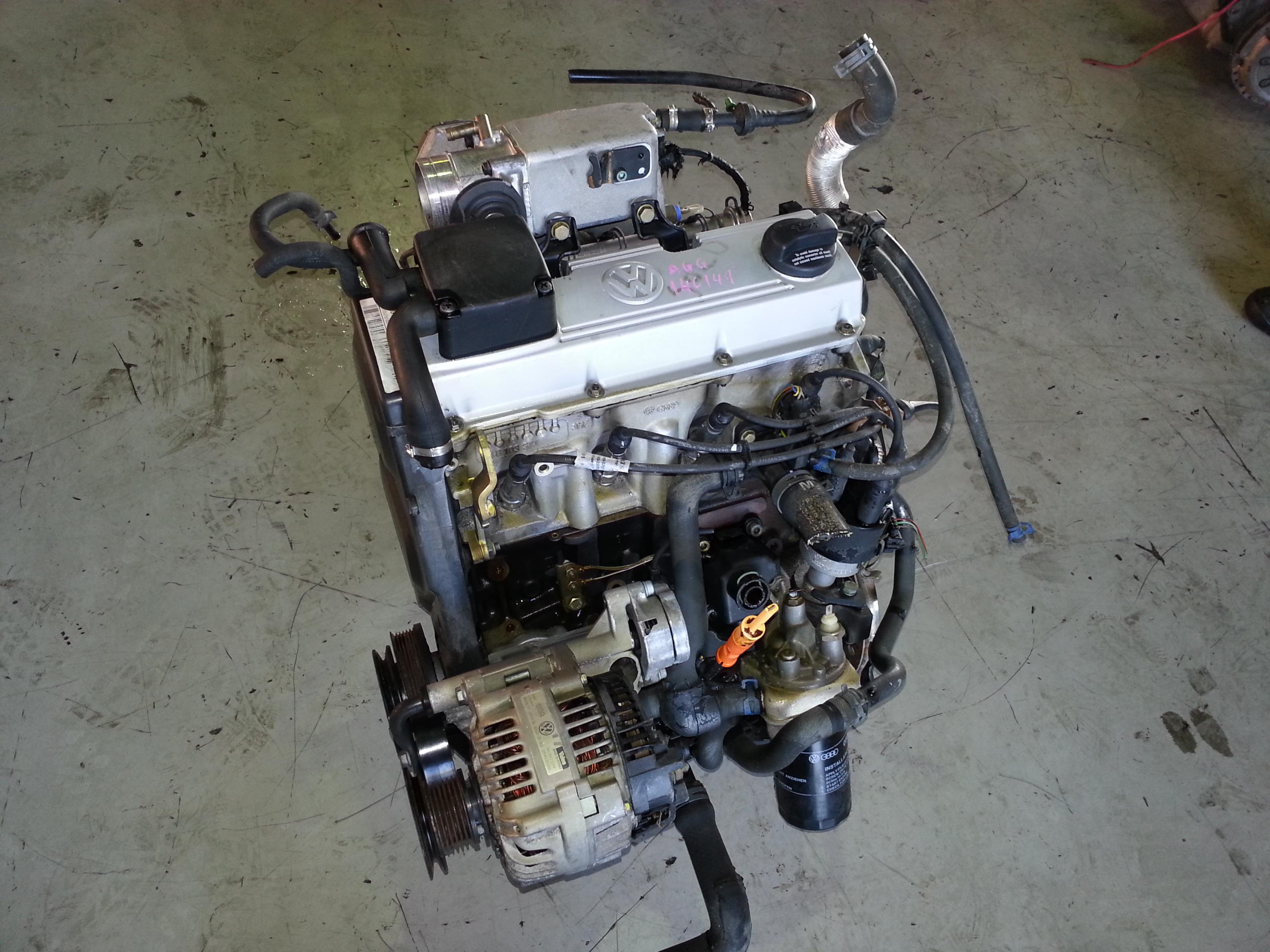 Vw Engines For Sale >> Vw Golf 2 0 8v Engine Ady Agg